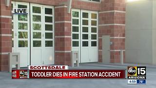 Toddler dies after being injured at Scottsdale Fire station - Video