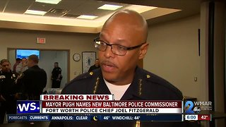 Fort Worth Texas Police Chief named new Baltimore Police Commissioner by Mayor Pugh