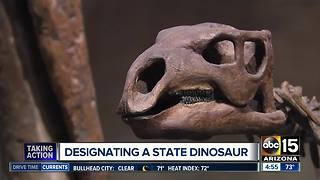 Designating a state Dinosaur in Arizona