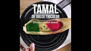 Tricolor Sweet Tamale