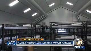 City Council president questions plan to house homeless