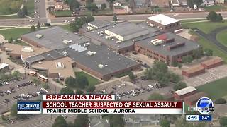 Police: Prairie Middle School teacher is sexual assault suspect, believed to have 'multiple victims' - Video