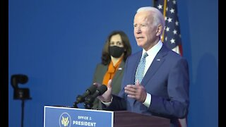 President-elect Biden calls for unity during transition