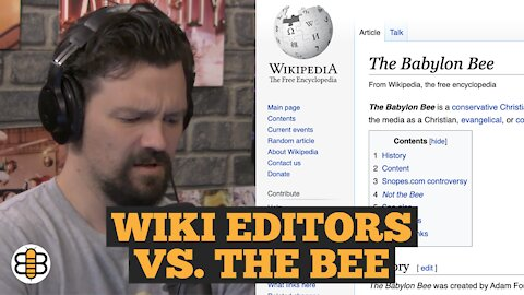 Some Wikipedia Editors Want To Label The Babylon Bee Fake News