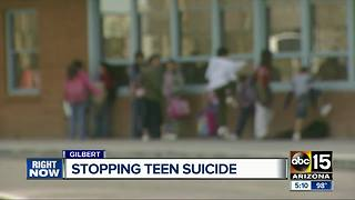 Valley high school holding suicide prevention event for parents, educators - Video