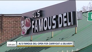 Al's Famous Deli open for carryout, delivery