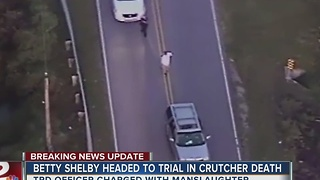 Officer Shelby Charged With Manslaughter In Crutcher Death