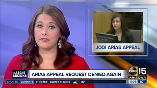 Jodi Arias appeal denied again