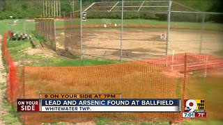 Lead and arsenic found at ballfield - Video