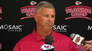 Chiefs trainer talks injuries