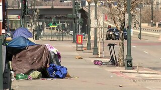 Homeless community says they have more space to move around downtown Denver amid stay-at-home order