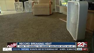 Record breaking heat hits Bakersfield