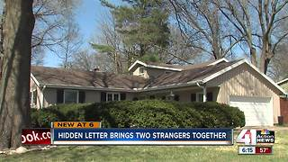 Man leaves note to future homeowners - Video