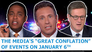"""The Charlie Kirk Show - The Media's """"Great Conflation"""" of Events on January 6th"""