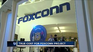Costs for Foxconn project are higher than expected - Video