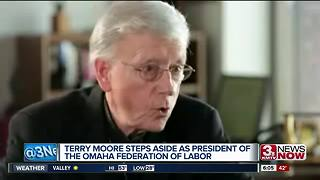 Terry Moore steps down as president of Omaha Federation of Labor - Video