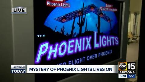 Mystery of Phoenix Lights continues