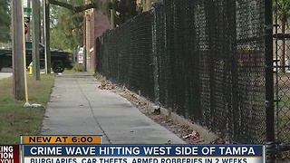People held at gunpoint, robbed in West Tampa - Video