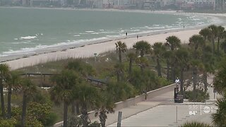 Pinellas County beaches, public beach parking closures extended for another week
