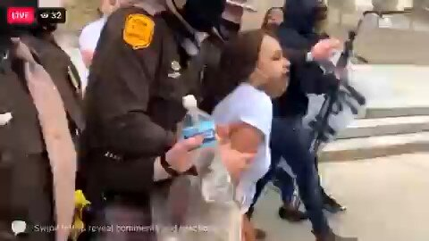 BLM Scumbag Arrested For Protesting at A Mall In The Iowa State Capitol