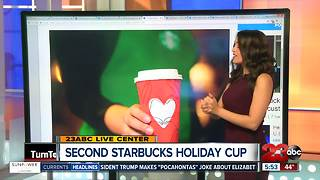 Starbucks Second Holiday Cup for 2017 - Video