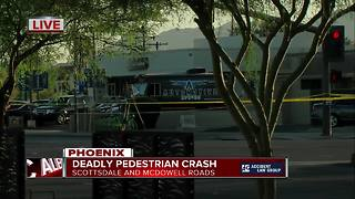 Deadly pedestrian-involved crash in Scottsdale - Video