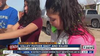 Father shot and killed over the weekend - Video