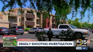 Suspect detained after deadly Mesa shooting