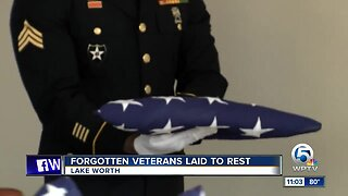 Forgotten veterans honored with proper burial