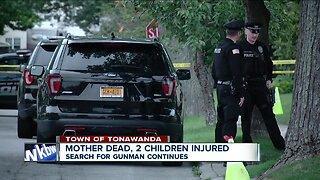 Town of Tonawanda Police search for person who shot two children, killed mother