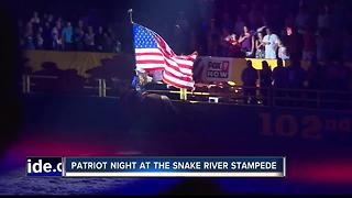 Local patriots honored at Snake River Stampede - Video