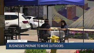 Business prepare to move outdoors ahead of tier decision