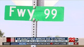 The Central Valley is seeing less air pollution amid the coronavirus outbreak