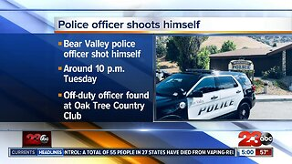 BV police officer accidentally shoots self