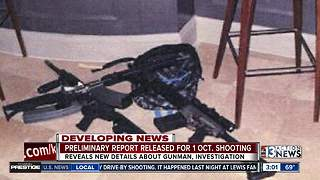 More info from preliminary report about mass shooting - Video