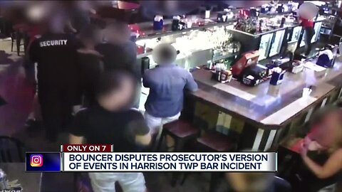 Bouncer disputes prosecutor's version of events in Harrison Township bar incident