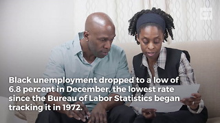 Trump Presides Over Lowest Black Unemployment - Video