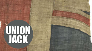 Fragment of Union Jack from Nelson's flagship at Trafalgar to go under hammer - Video