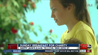 Local high school students helping Happy Jack's raise money for charity