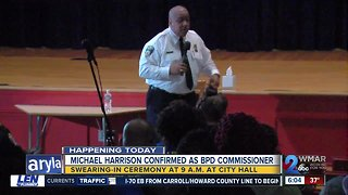 Michael Harrison confirmed as new BPD Commissioner