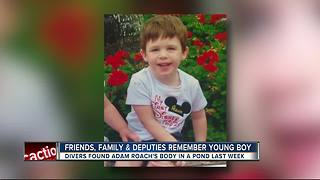 Friends, family & deputies remember young boy - Video