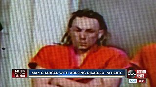 Mental health worker charged with molesting multiple elderly, disabled patients
