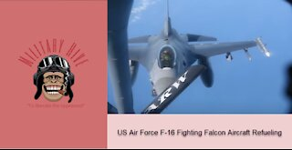 US Air Force F-16 Fighting Falcon Aircraft Refueling: What could possibly go wrong!