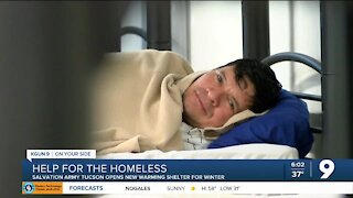 Salvation Army Tucson introduces new program to house homeless this winter