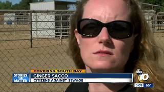 Neighbors say they were misled by sewage fix bill - Video