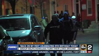 Back on My Feet Baltimore celebrating 9th birthday - Video