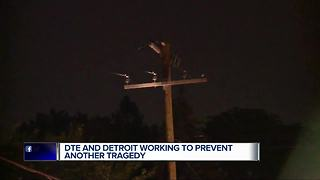 DTE and Detroit work together to prevent electrocution tragedy - Video