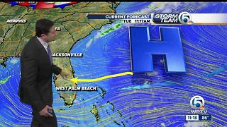 South Florida Tuesday afternoon forecast (7/11/17) - Video