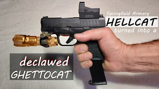 Springfield Armory Hellcat turned into a Declawed Ghettocat