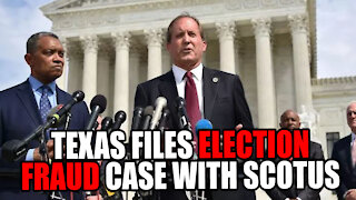 Texas Files LAWSUIT with SCOTUS Challenging 4 Swing States!
